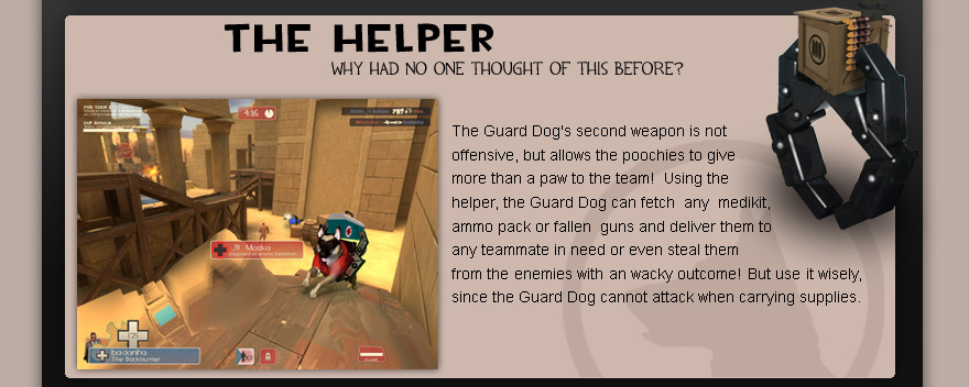 Team Fortress 2 The Guard Dog Update
